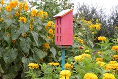 Het huis van de vlinder Royalty-vrije Stock Afbeelding