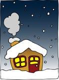 Het huis van de winter stock illustratie