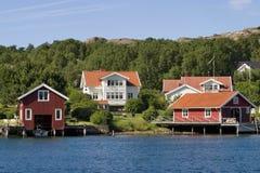 Het huis van de zomer royalty-vrije stock foto