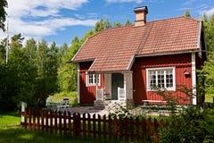 Het huis van de zomer. Stock Afbeelding