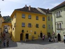 Het huis van Dracula royalty-vrije stock foto