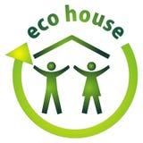 Het huis van Eco stock illustratie