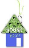 Het huis van Eco Stock Foto's