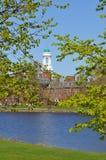 Het Huis van Eliot, de Universiteit van Harvard, over Charles Ri Royalty-vrije Stock Fotografie