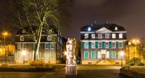 Het Huis van Engels in Wuppertal-Barmannen stock foto