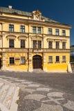Het huis van Fritz in banskastiavnica Royalty-vrije Stock Foto