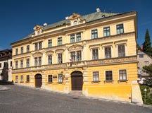 Het huis van Fritz in banskastiavnica Royalty-vrije Stock Foto's