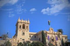 Het Huis van Gastvrijheid in Balboapark wordt gevestigd, San Diego dat stock afbeelding
