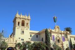 Het Huis van Gastvrijheid in Balboapark wordt gevestigd, San Diego dat royalty-vrije stock afbeeldingen