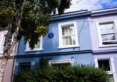 Het huis van George Orwell in Londen stock fotografie