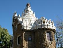 Het huis van Guell van het park Stock Afbeelding