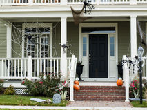 Het Huis van Halloween Stock Afbeelding