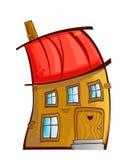 Het huis van het beeldverhaal Royalty-vrije Stock Afbeelding