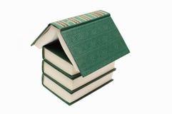 Het huis van het boek Stock Foto