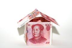 Het huis van het contante geld Stock Foto