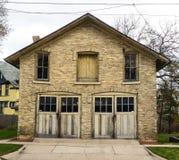 het huis van het de 19de eeuwvervoer Royalty-vrije Stock Fotografie