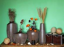 Het huis van het decor Stock Fotografie