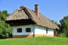 Het huis van het dorp Royalty-vrije Stock Fotografie