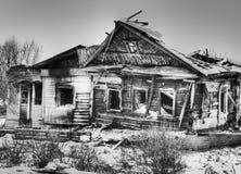 Het huis van het dorp Stock Fotografie