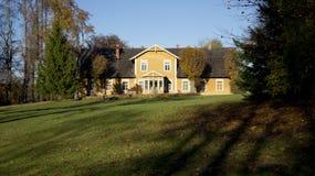 Het huis van het dorp Stock Afbeelding