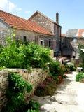 Het huis van het dorp Stock Foto