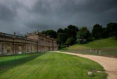 Het Huis van het Dyrhampark, Somerset, Engeland Stock Fotografie