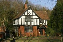 Het Huis van het Frame van het hout stock afbeeldingen