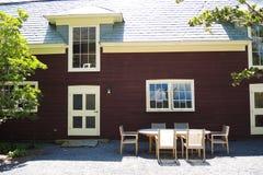 Het huis van het Gedneylandbouwbedrijf Stock Afbeelding