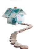Het Huis van het geld Stock Foto's