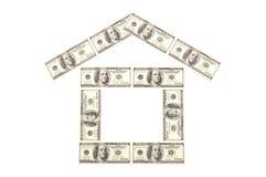 Het huis van het geld Stock Foto
