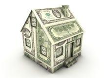 Het huis van het geld royalty-vrije illustratie