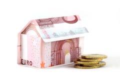 Het huis van het geld Royalty-vrije Stock Afbeeldingen