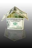 Het huis van het geld stock afbeeldingen