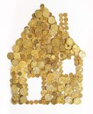 Het huis van het geld Royalty-vrije Stock Foto's