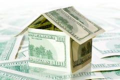 Het huis van het geld royalty-vrije stock fotografie