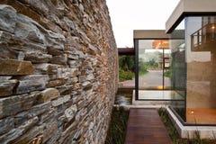 Het huis van het Glas Stock Afbeelding