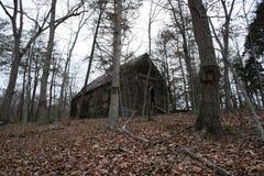 Het Huis van het hout royalty-vrije stock foto's