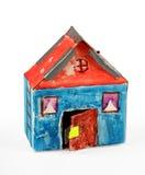 Het huis van het karton Royalty-vrije Stock Foto