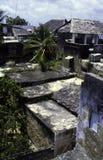 Het huis van het Koraal van Tradtional van Lamu, Kenia Stock Afbeelding