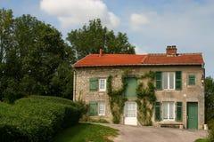 Het huis van het land Stock Fotografie