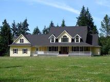 Het Huis van het land Royalty-vrije Stock Fotografie