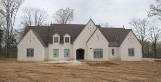 Het Huis van het land in aanbouw in de Delta van de Mississippi Royalty-vrije Stock Fotografie