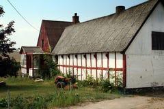 Het huis van het landbouwbedrijf Stock Fotografie