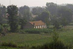 Het huis van het landbouwbedrijf Royalty-vrije Stock Foto