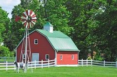 Het huis van het landbouwbedrijf in de V.S. Royalty-vrije Stock Fotografie