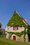 Het huis van het landbouwbedrijf in Frankrijk Royalty-vrije Stock Afbeelding