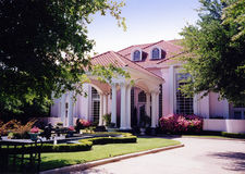 Het huis van het landgoed stock foto's
