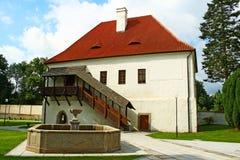 Het huis van het landhuis Stock Foto's