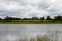 Het huis van het meer Royalty-vrije Stock Foto