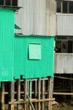 Het huis van het metaal Stock Foto's